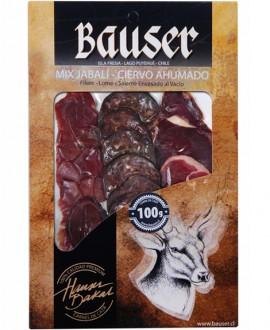 Mix jabali - ciervo ahumado