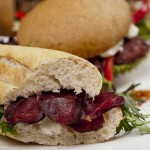 Sandwich con Jamón de Ciervo